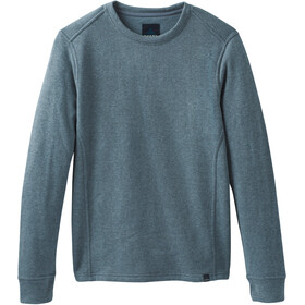 Prana Norcross Rundhals Langarmshirt Herren blue note heather